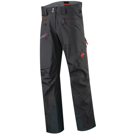 Mammut Sunridge Gore-Tex® Soft Shell Snow Pants - Waterproof (For Women) in Graphite/Inferno