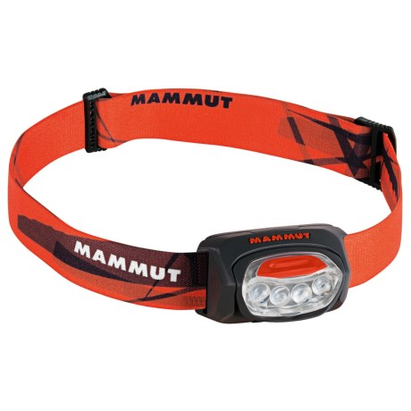 Mammut T-Trail LED Headlamp in Black