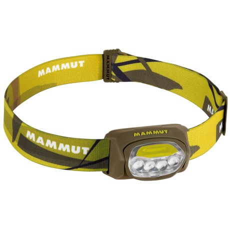 Mammut T-Trail LED Headlamp in Salsa