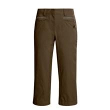 Mammut Talc Capri Pants - Stretch (For Women) in Coffee - Closeouts