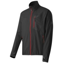 Mammut Ultimate Light Windstopper® Jacket - Soft Shell (For Men) in Black Inferno - Closeouts