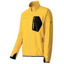 Mammut Ultimate Light Windstopper® Jacket - Soft Shell (For Men) in Yellow - Closeouts