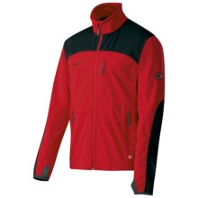 Mammut Ultimate Pro Windstopper® Jacket - Soft Shell (For Men) in Inferno/Black - Closeouts