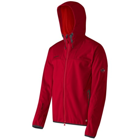 Mammut Ultimate Soft Shell Jacket - Windstopper® (For Men) in Inferno