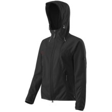 Mammut Ultimate Soft Shell Jacket - Windstopper® (For Women) in Black - Closeouts