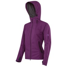 Mammut Ultimate Soft Shell Jacket - Windstopper® (For Women) in Dark Bloom - Closeouts