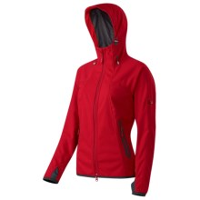 Mammut Ultimate Soft Shell Jacket - Windstopper® (For Women) in Inferno - Closeouts