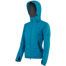 Mammut Ultimate Soft Shell Jacket - Windstopper® (For Women) in Ocean - Closeouts