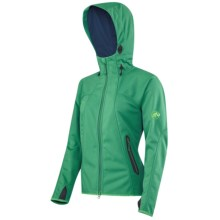 Mammut Ultimate Soft Shell Jacket - Windstopper® (For Women) in Pool/Ensign - Closeouts