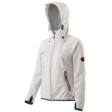 Mammut Ultimate Soft Shell Jacket - Windstopper® (For Women) in White/Grey - Closeouts