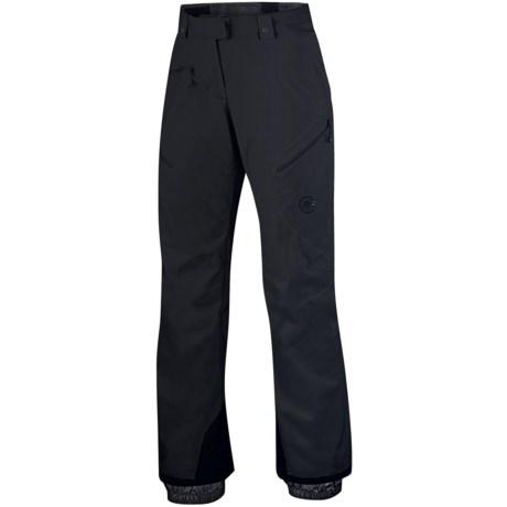 Mammut Vail Ski Pants - Waterproof (For Women) in Black