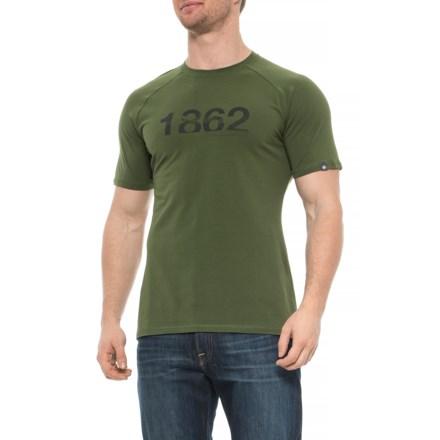 Mammut Vintage T-Shirt - Short Sleeve (For Men) in Seaweed