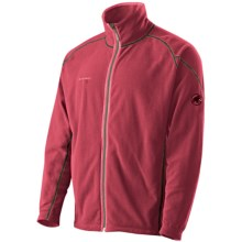 Mammut Yadkin Jacket - Fleece (For Men) in Dark Inferno - Closeouts