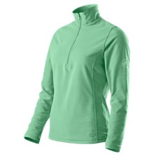 Mammut Yukon Pullover - Fleece, Zip Neck (For Women) in Light Lolium - Closeouts