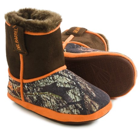 M&F Western DBL Barrel Camo Bootie Slippers (For Little and Big Kids) in Mossy Oak