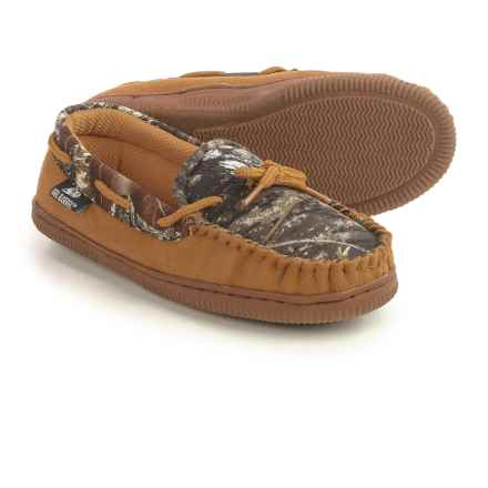 M&F Western Double Barrel Slippers (For Little and Big Kids) in Mossy Oak - Closeouts