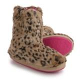 M&F Western Furry Slipper Boots (For Women)