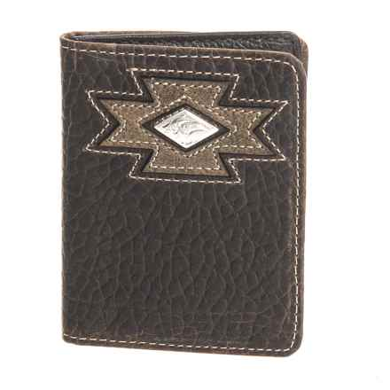 M&F Western Products, Inc. Ariat Bifold Flipcase Wallet - Leather (For Men) in See Photo - Closeouts