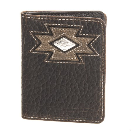 M&F Western Products, Inc. Ariat Bifold Flipcase Wallet - Leather (For Men) in See Photo