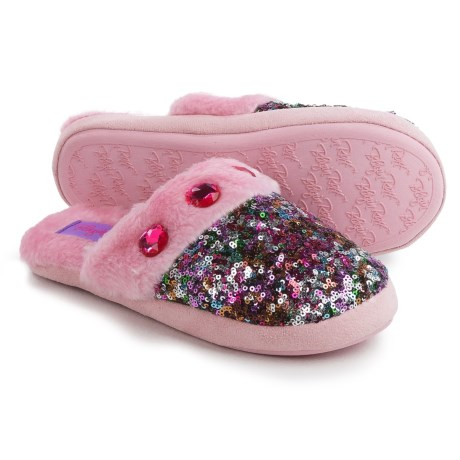 M&F Western Sequin Slippers (For Little and Big Girls)
