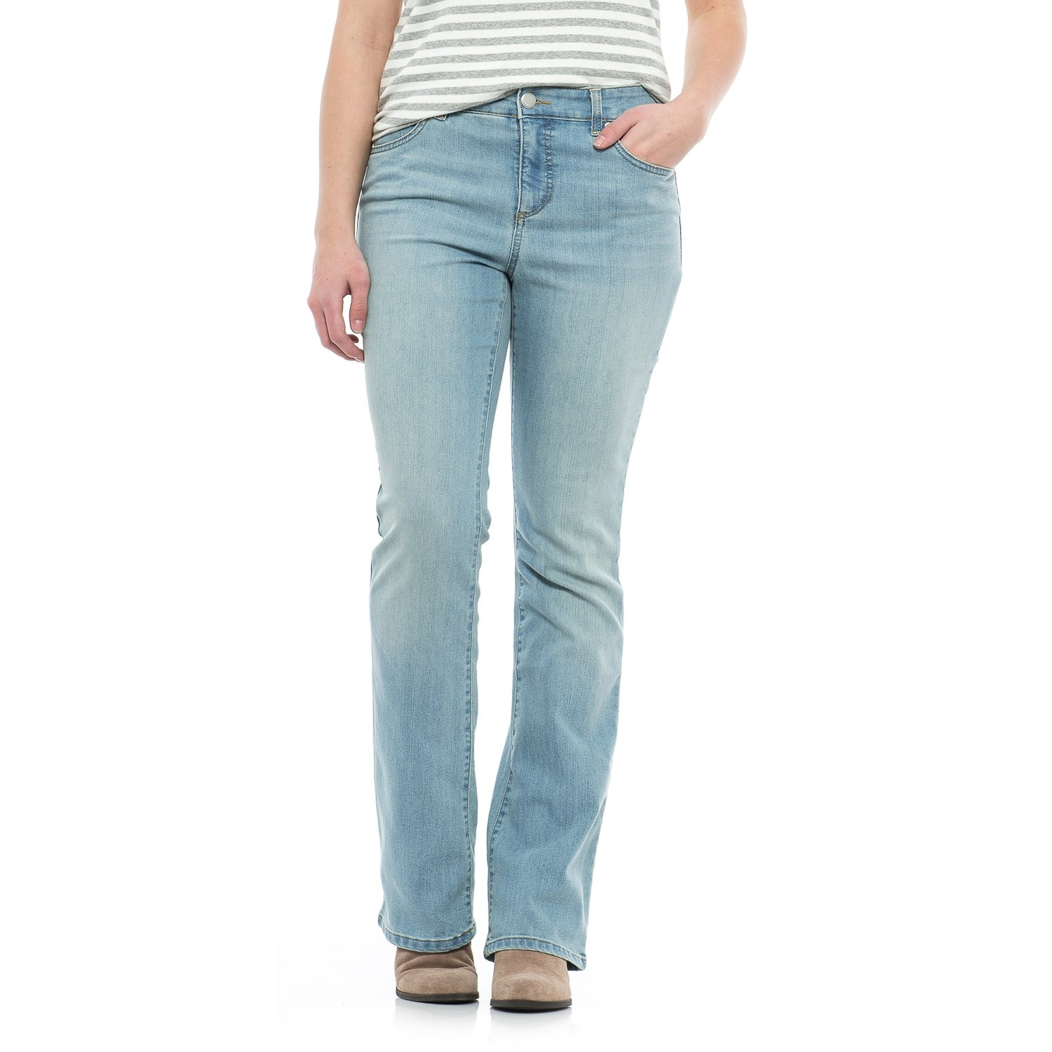 Mandie Perfect Fit Barely Bootcut Jeans (For Women) - Save 55%