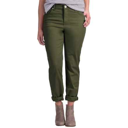 Mandie Perfect Fit Colored Denim Jeans (For Women) in Deep Moss - 2nds