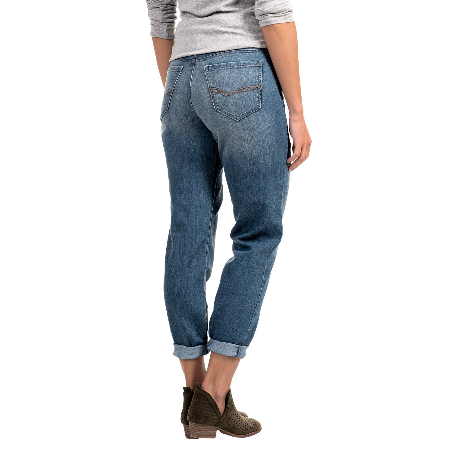 Mandie Perfect Fit Colored Denim Jeans (For Women) - Save 55%