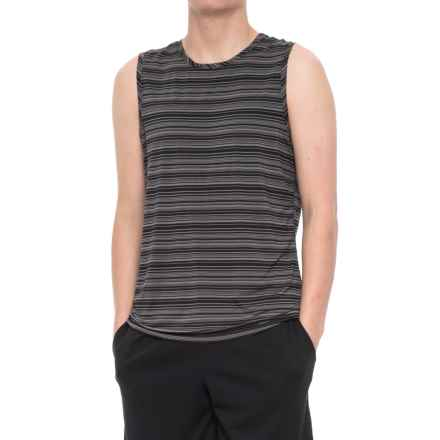 Manduka Cross Train Tank Top (For Men) in Black/Thunder - Closeouts
