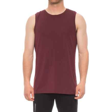 Manduka Cross Train Tank Top (For Men) in Port - Closeouts