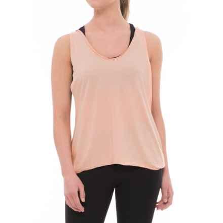 Manduka Enlight Twist Tank Top (For Women) in Light Peach - Closeouts