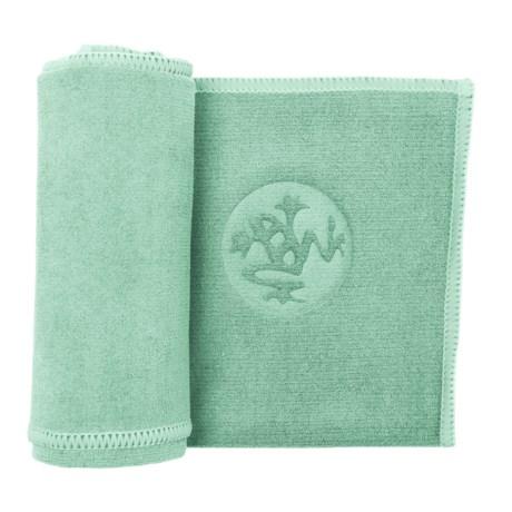 Manduka Equa Hand Towel in Seaglass/Npnt