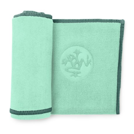 Manduka Equa Hand Towel in Seaglass