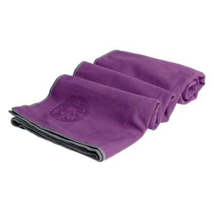 Manduka eQua® Hold Yoga Mat Towel in Mambo - Closeouts