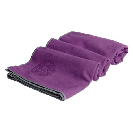 Manduka eQua(R) Hold Yoga Mat Towel