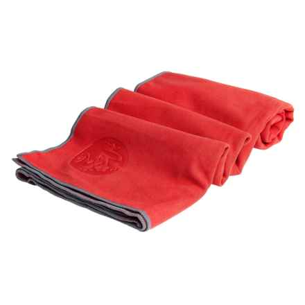 Manduka eQua® Hold Yoga Mat Towel in Nia - Closeouts