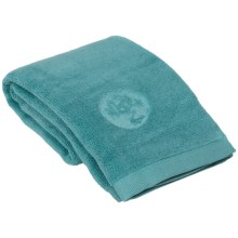 Manduka eQua® Hot Yoga Hand Towel - Microfiber in Geyser - Closeouts
