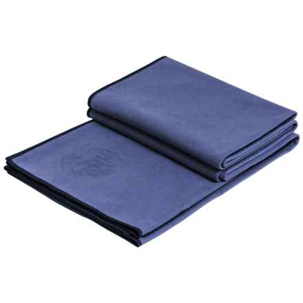 "Manduka eQua® Standard Yoga Mat Towel - 72x26.5"" in Haze - Closeouts"