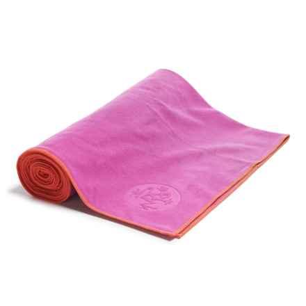 "Manduka eQua® Standard Yoga Mat Towel - 72x26.5"" in La Rampa - Closeouts"