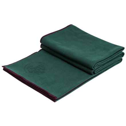 "Manduka eQua® Standard Yoga Mat Towel - 72x26.5"" in Thrive - Closeouts"