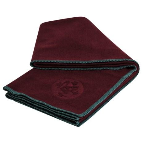 Manduka eQua® Yoga Hand Towel in Port