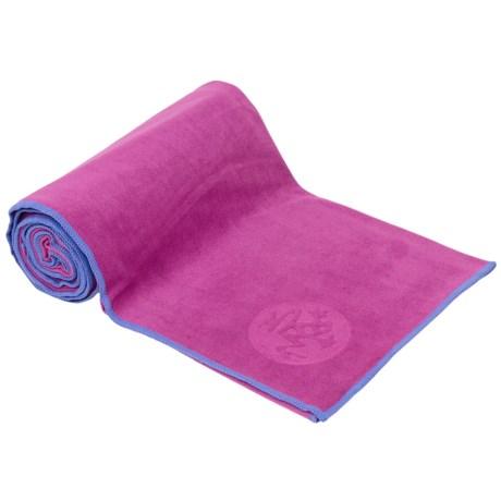 Manduka eQua(R) Yoga Mat Towel Standard