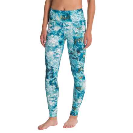 Manduka Essential Leggings (For Women) in Havana Print - Closeouts