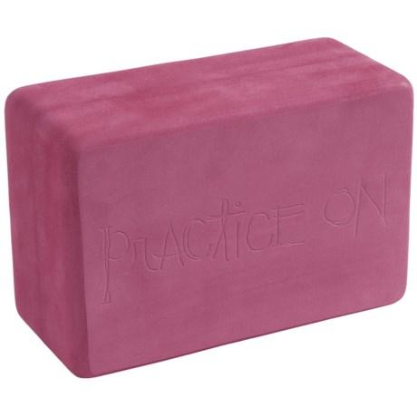 Manduka Foam Yoga Block in Majesty