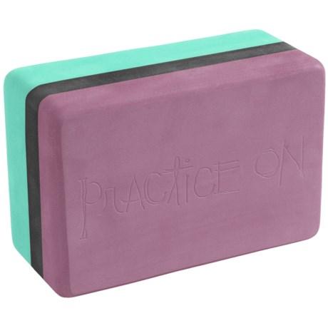 Manduka Foam Yoga Block in Seaglass