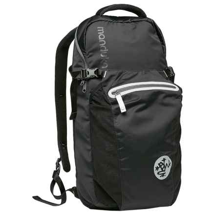 Manduka Go Free 2.0 Yoga Backpack - Laptop Sleeve in Black - Closeouts