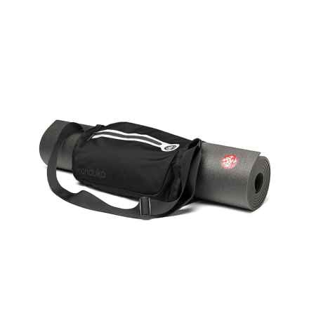 Manduka Go Play Yoga Mat Carrier in Black - Closeouts