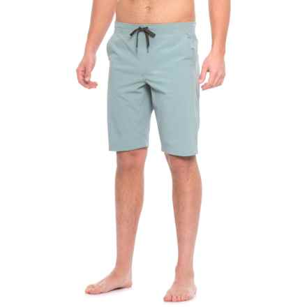 Manduka Homme Shorts (For Men) in Chambray - Closeouts