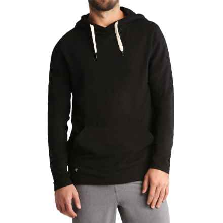 Manduka Intentional Hoodie - Organic Cotton (For Men) in Black - Closeouts