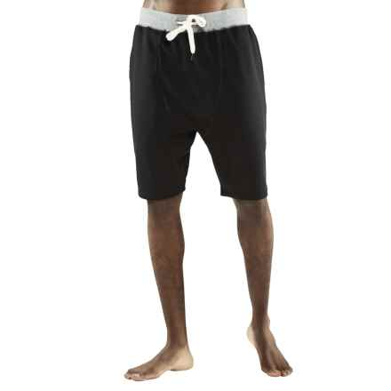 Manduka Intentional Yoga Shorts (For Men) in Black - Closeouts