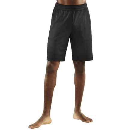 Manduka Ka-Ze Yoga Shorts (For Men) in Black - Closeouts